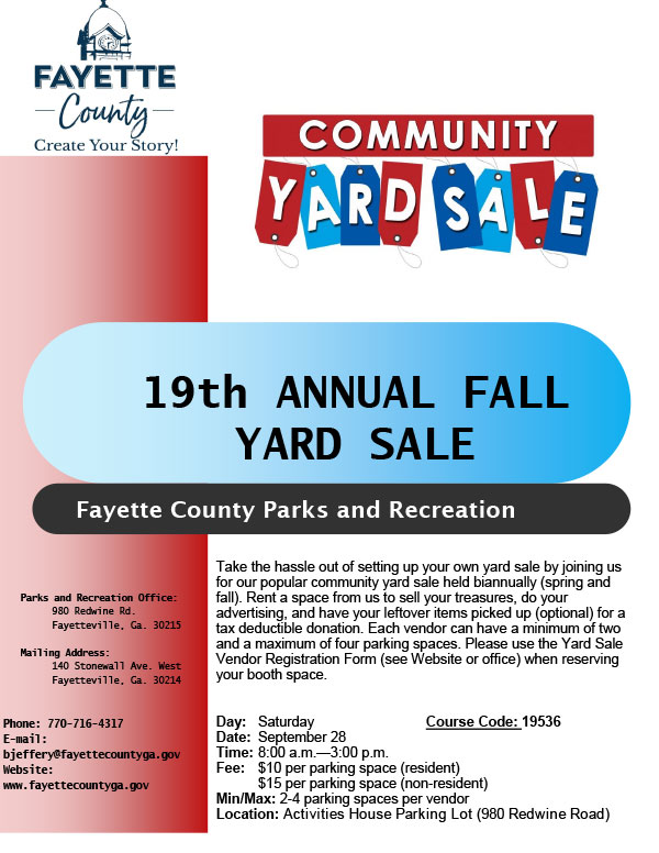 Fayette County Parks & Recreation