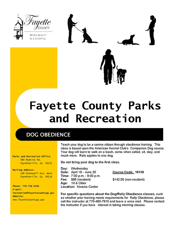 Fayette county parks recreation click the image to open the flyer in a new window xflitez Gallery