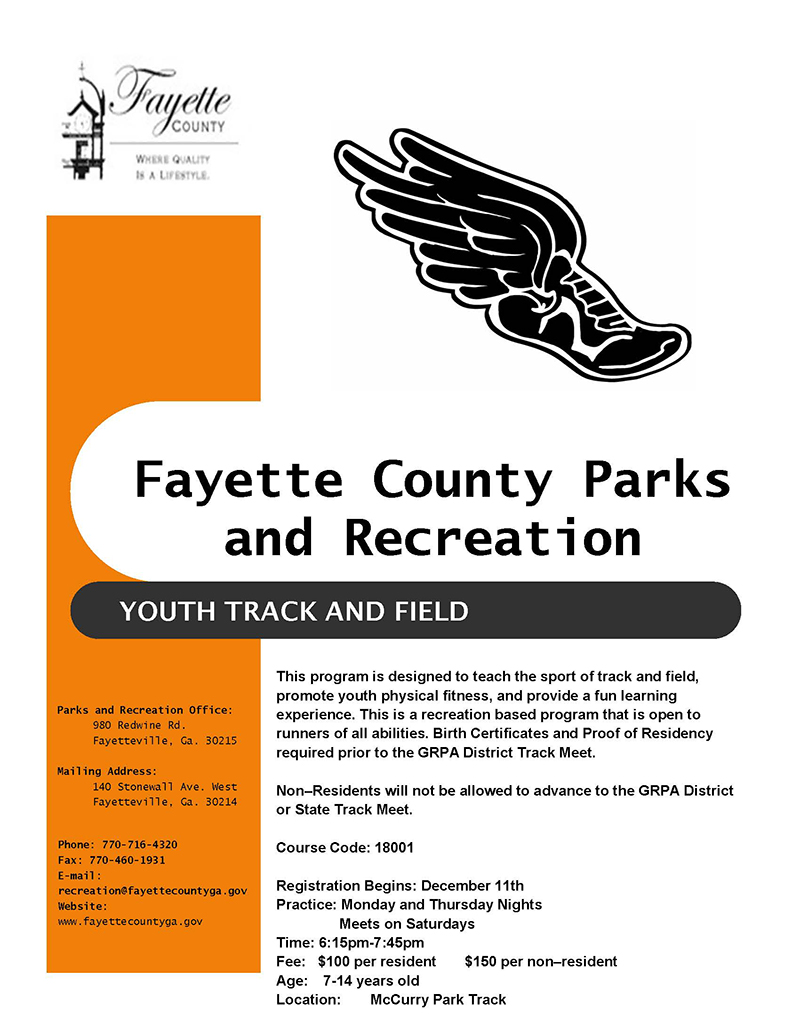 Fayette county parks recreation xflitez Gallery